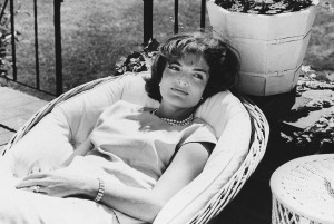 WASHINGTON, DC - DECEMBER 1: Picture dated December 1961 of US First Lady Jacqueline Kennedy relaxing in a chair, a few weeks after her husband John F. Kennedy won the US presidential election. (Photo credit should read STAFF/AFP/Getty Images)