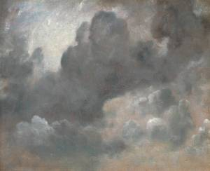 Cloud Study 1822 John Constable 1776-1837 Presented anonymously 1952 http://www.tate.org.uk/art/work/N06065