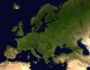 Europe_satellite_orthographic