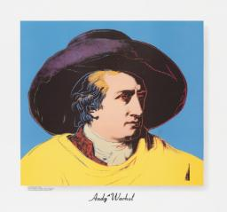 Goethe 1982 by Andy Warhol 1928-1987