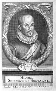 L0001909 Portrait of Michel de Montaigne.